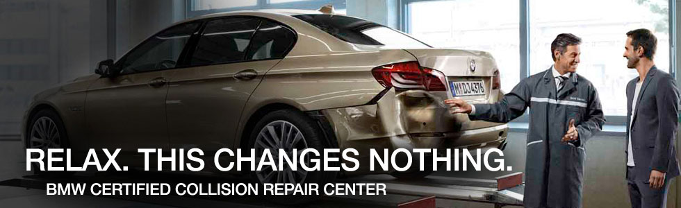 bmw collision repair