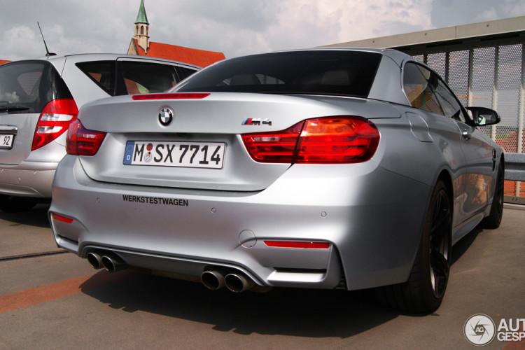 BMW M4 Frozen Silver